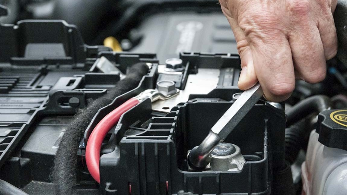 Kontrola a výmena autobatérie